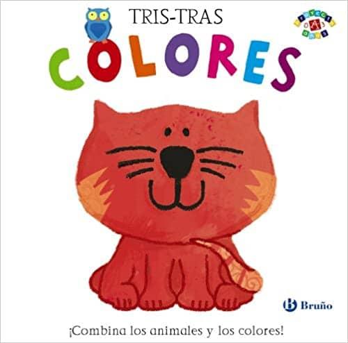 Colores libro troquelado