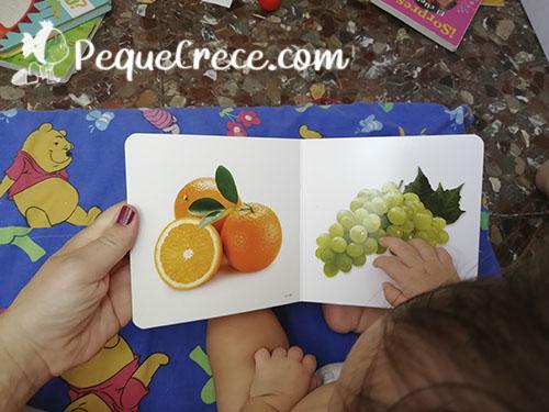 libro de frutas