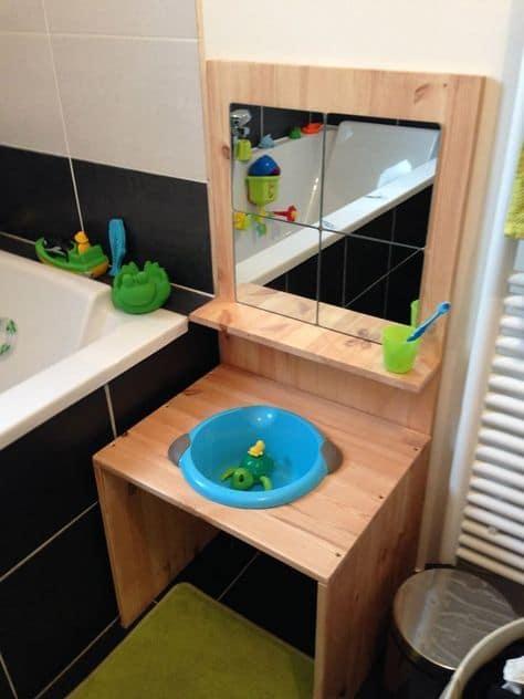 Aseo tipo Montessori para niños