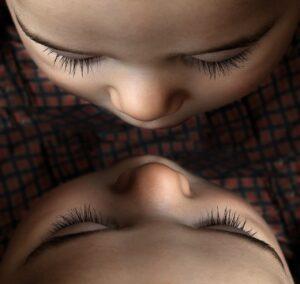 reconocimiento del bebe en el espejo