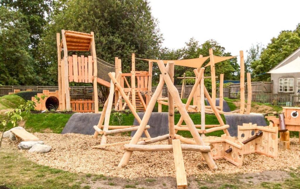 Parque de madera