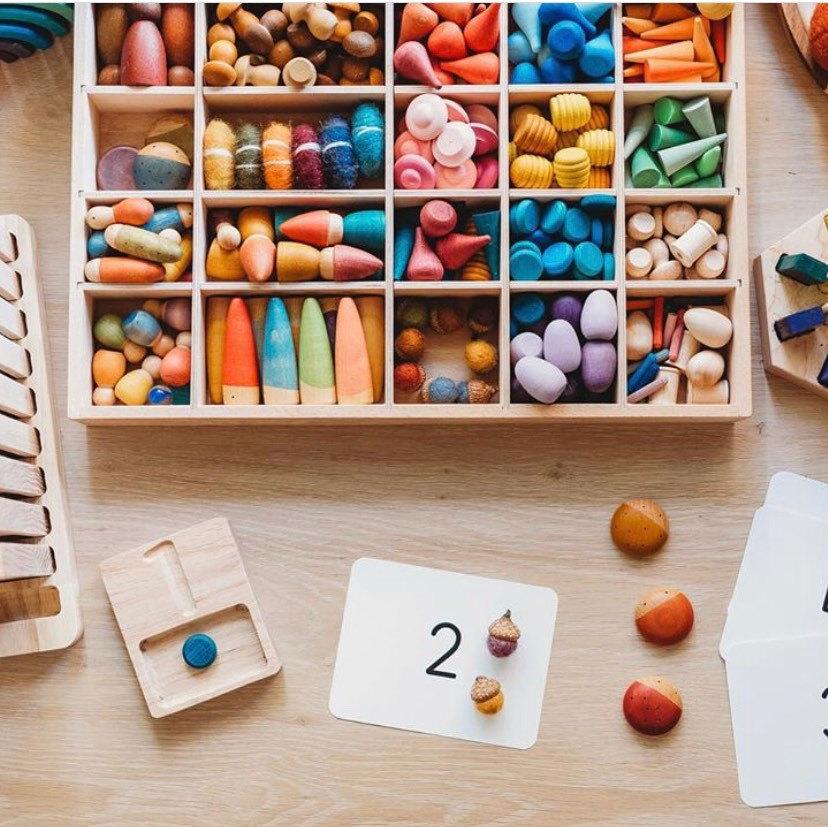 Caja piezas