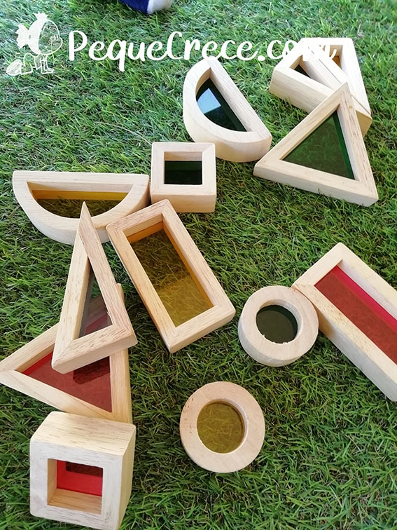 piezas material sin estructura